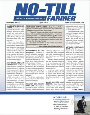 April 2015 Edition of No-Till Farmer