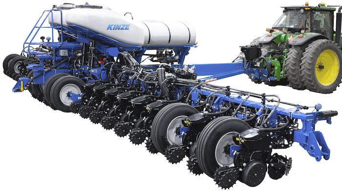 New Kinze planter