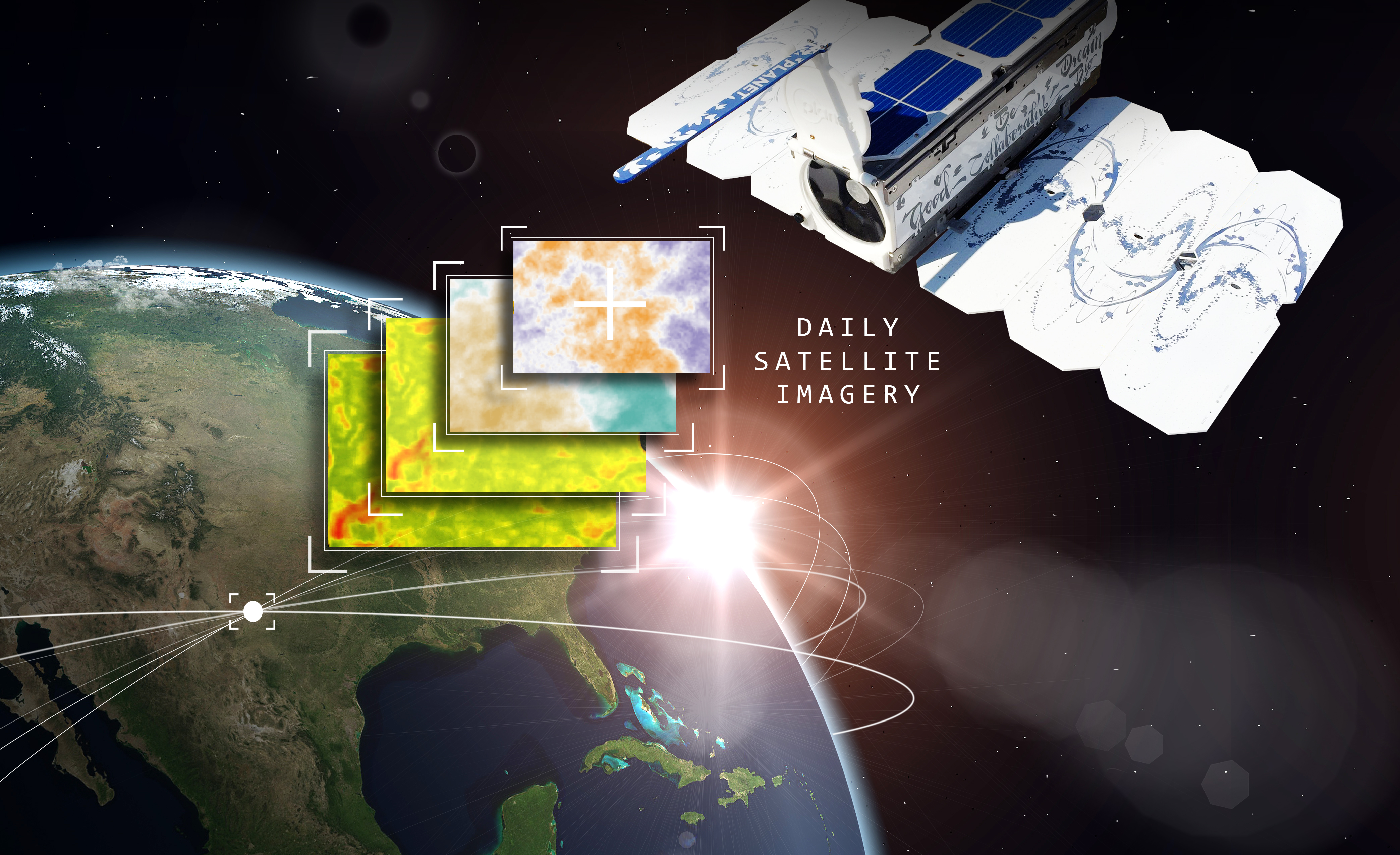 Farmers Edge And Planet Partner To Utilize Daily Satellite Imagery - World satellite view real time