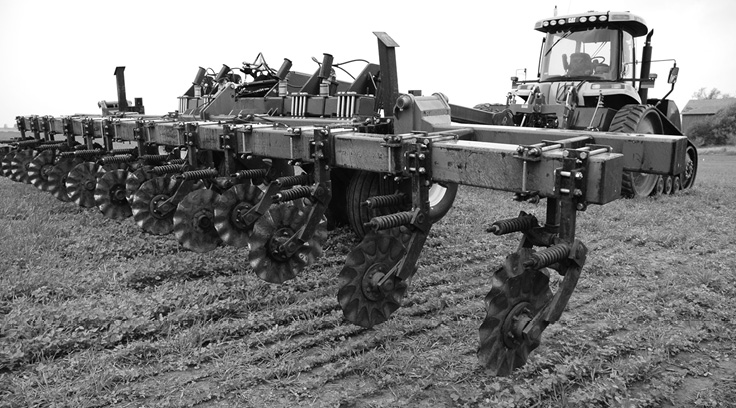 Our soil our life 2006 02 01 no till farmer for Soil our life