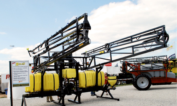 are sprayers a must have for no tillers 2009 11 01 no till farmer. Black Bedroom Furniture Sets. Home Design Ideas