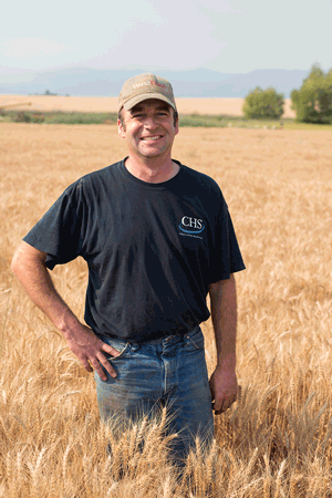 Doug Manning in field