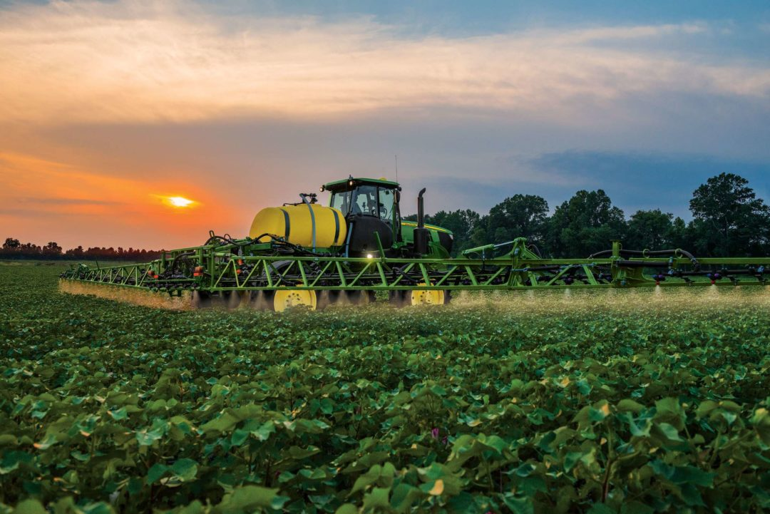 The new R4023 Sprayer offers the compact size, maneuverability, and versatility that operators and ag service providers need for a variety of field conditions.