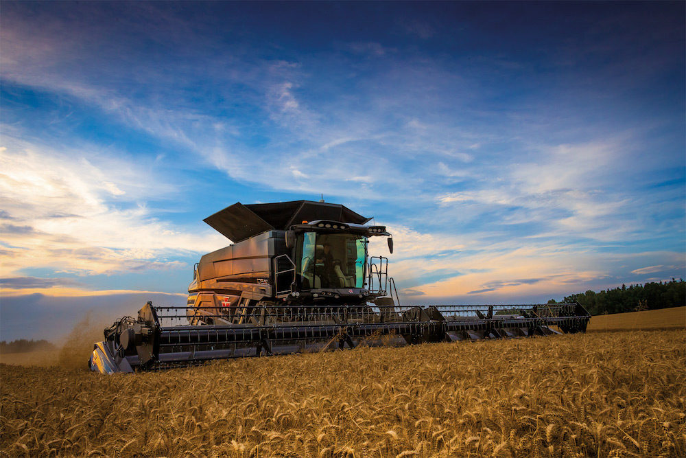 AGCO Ideal Combines