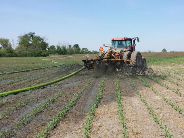 spring manure application