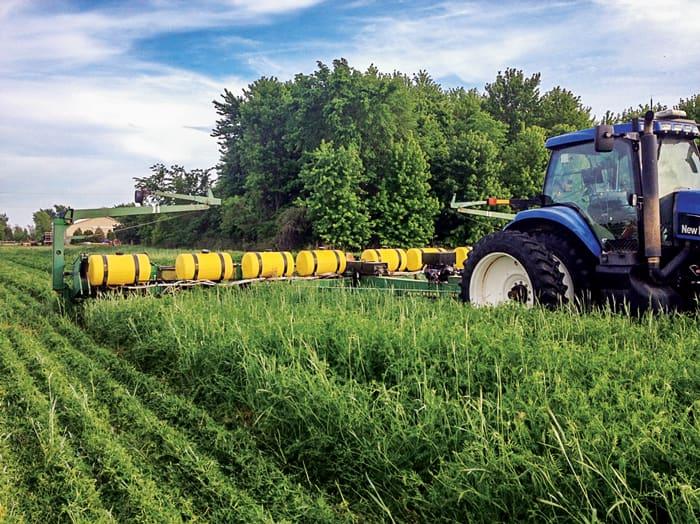 Stop harvesting of crops