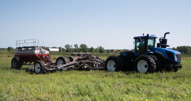 Ultra-Low Disturbance No-Till Reduces Soil Loss, Compaction Concerns