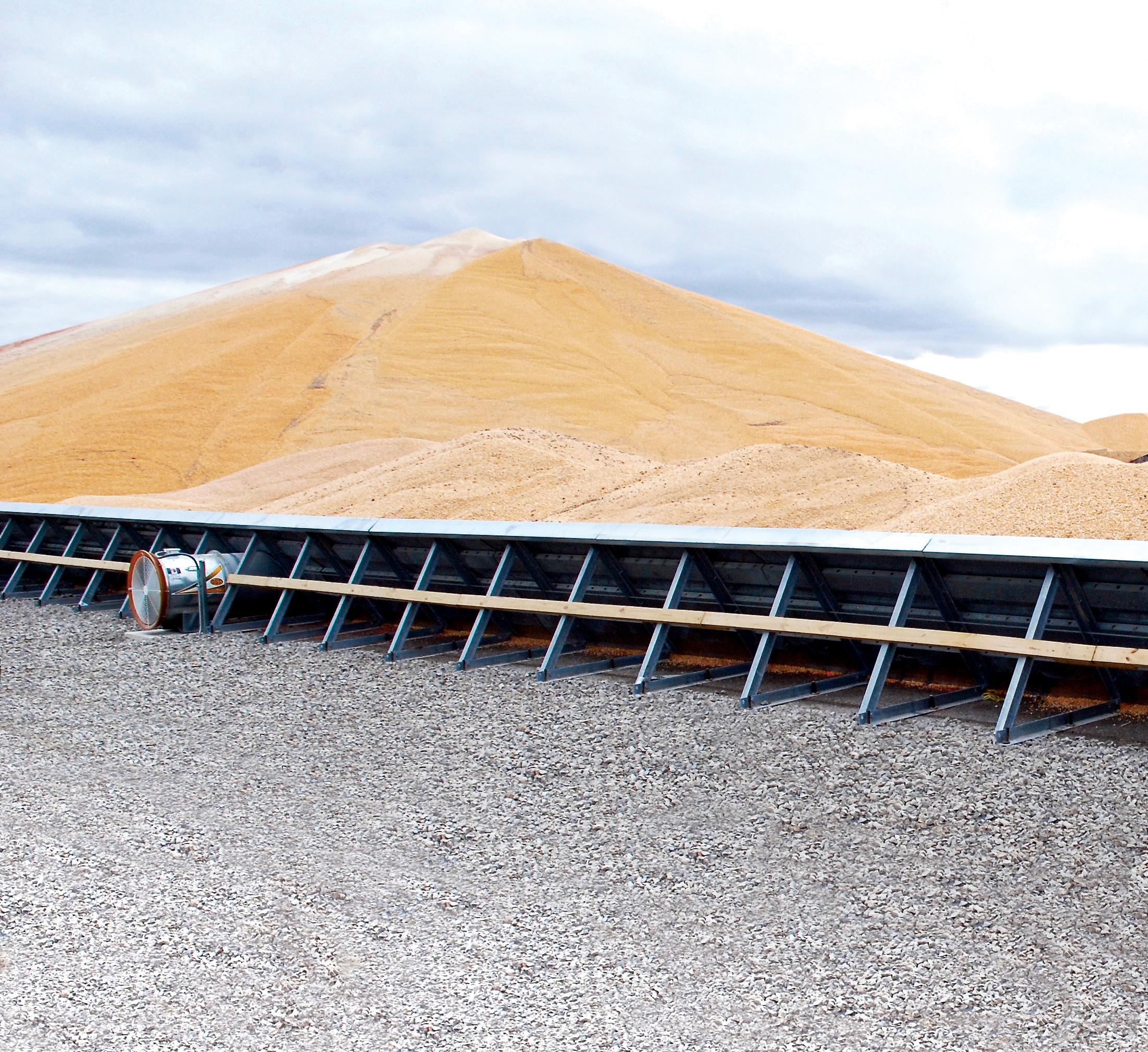 GSI temporary grain bin