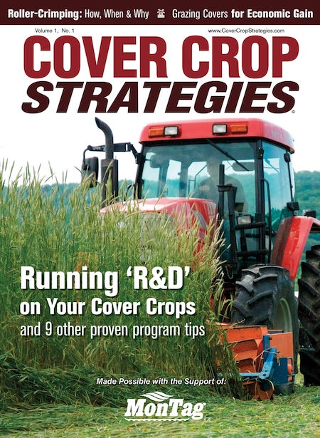 Cover Crop Strategies magazine cover