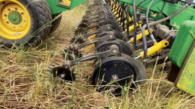 Achieving Picket-Fence Stands  with Precise Seed Placement