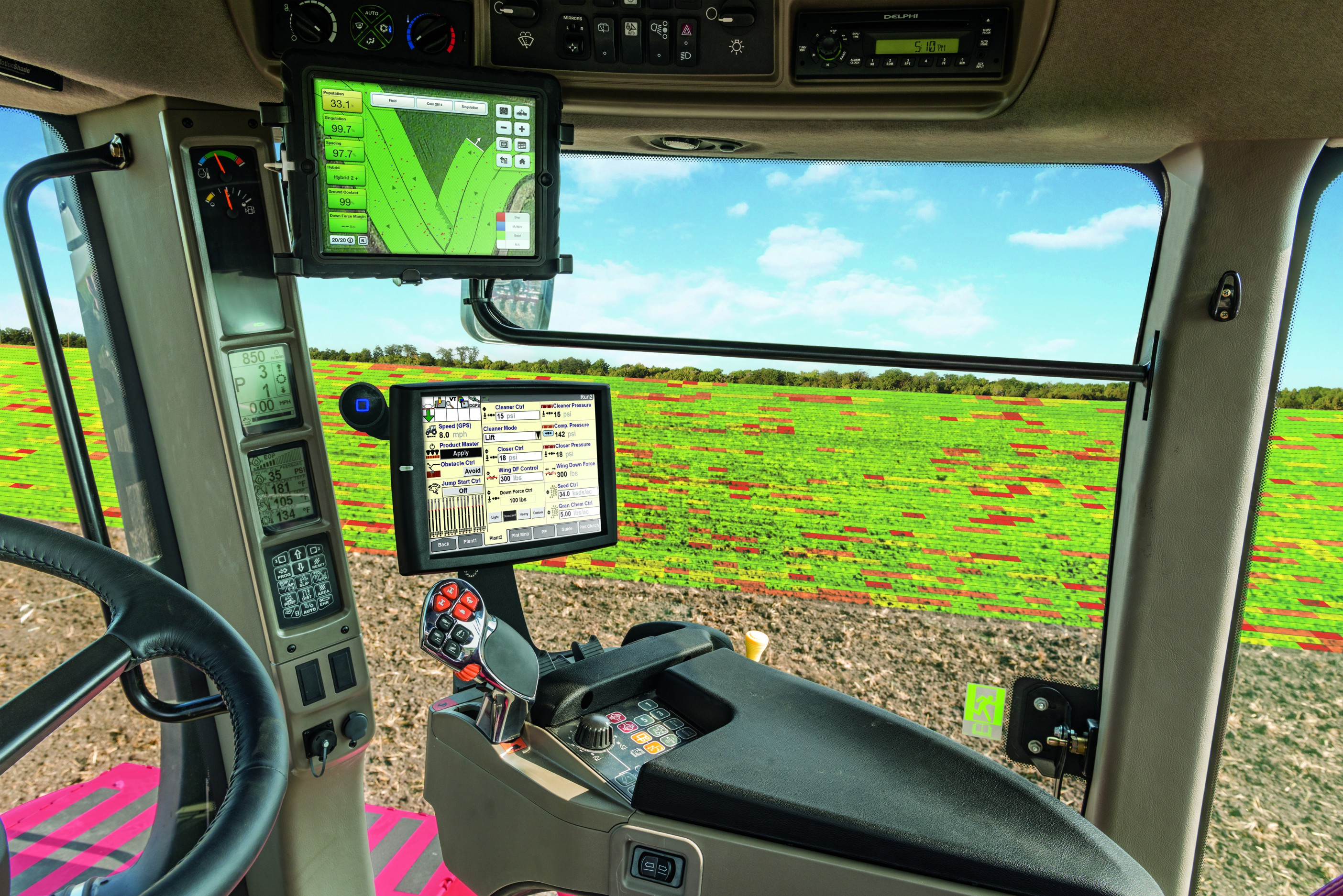 CaseIH Early Riser Field View