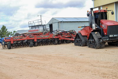 No-Tilling Helps Texas Farm Expand Rotation, Move On from Cotton