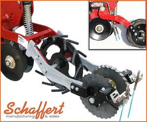 Schaffert Mfg. Dual Side Fertilizer Placement for Case IH 2100