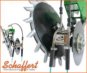 Schaffert Mfg. G2™ Liquid Fertilizer Disc with Dual Tubes
