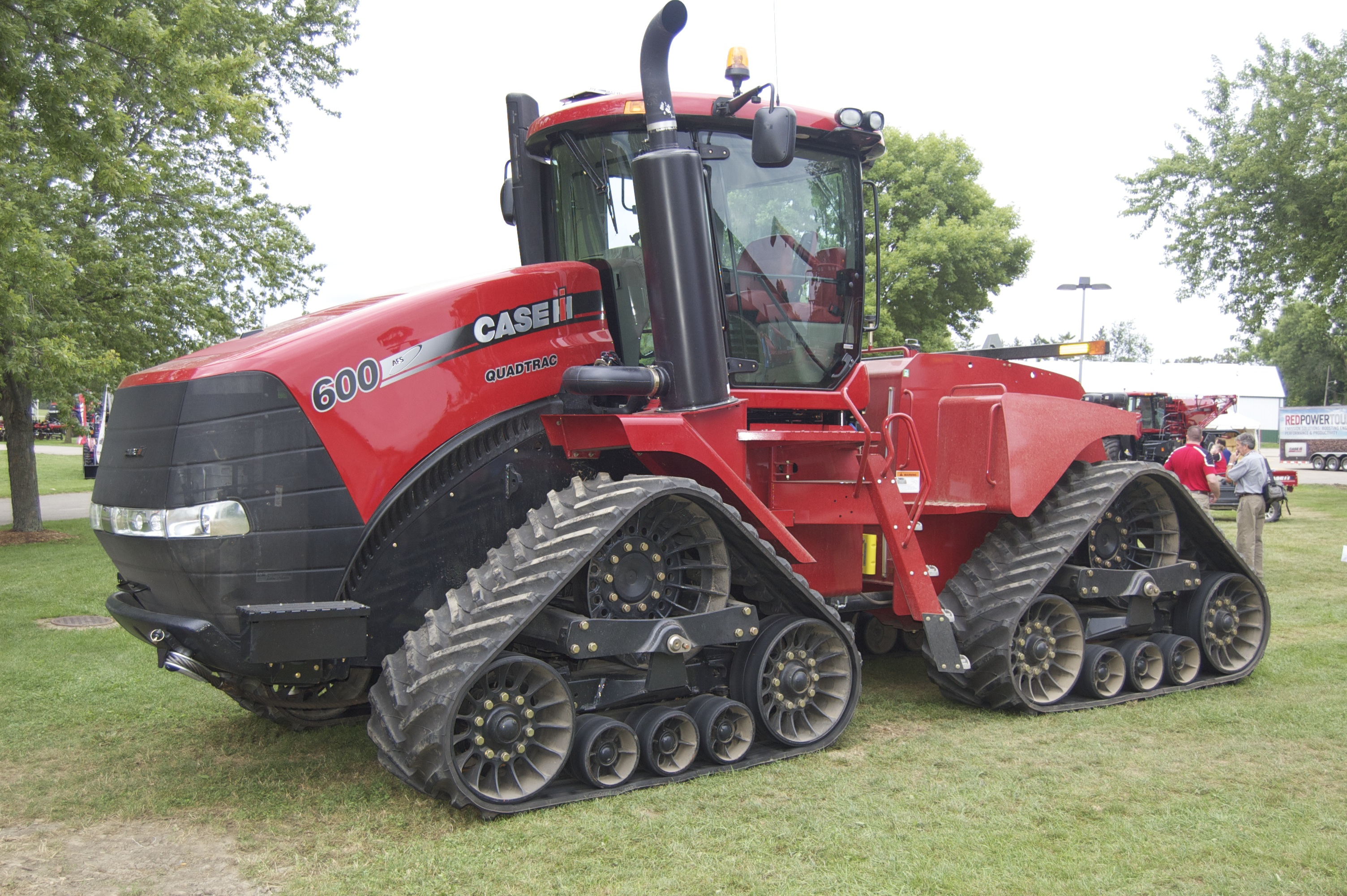 Case Tracked Tractors : Case ih steiger rowtrac tractors fight compaction offer