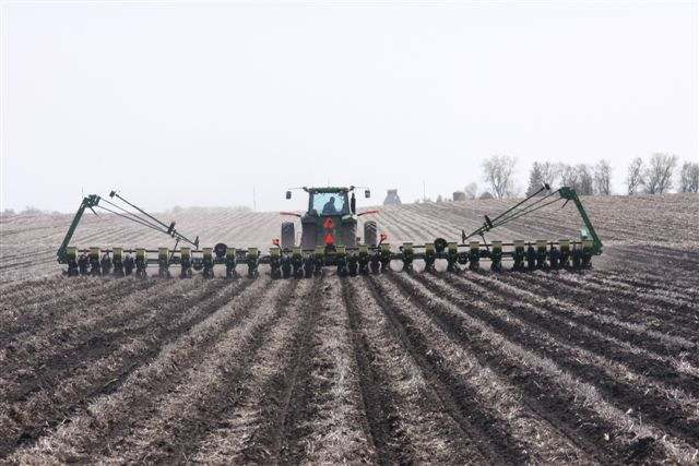 Planting in strip-tilled fields