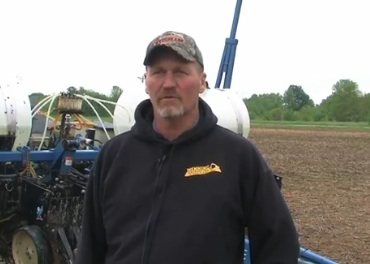 Roger Wenning, strip-tiller from Greensburg, Ind.