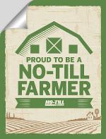 Proud to be a No-Till Farmer Sticker
