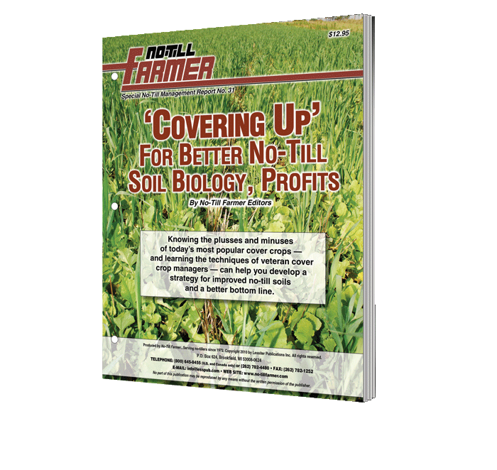 Covering Up For Better No-Till Soil Biology, Profits