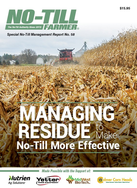 Managing Residue To Make No-Till More Effective