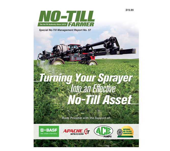 Turning Your Sprayer into an Effective No-Till Asset