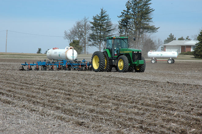 Managing Nitrogen Application During a Drought