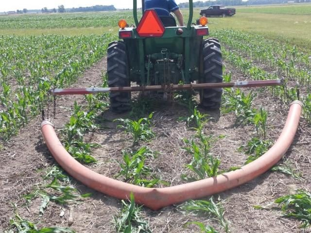 drag hose corn