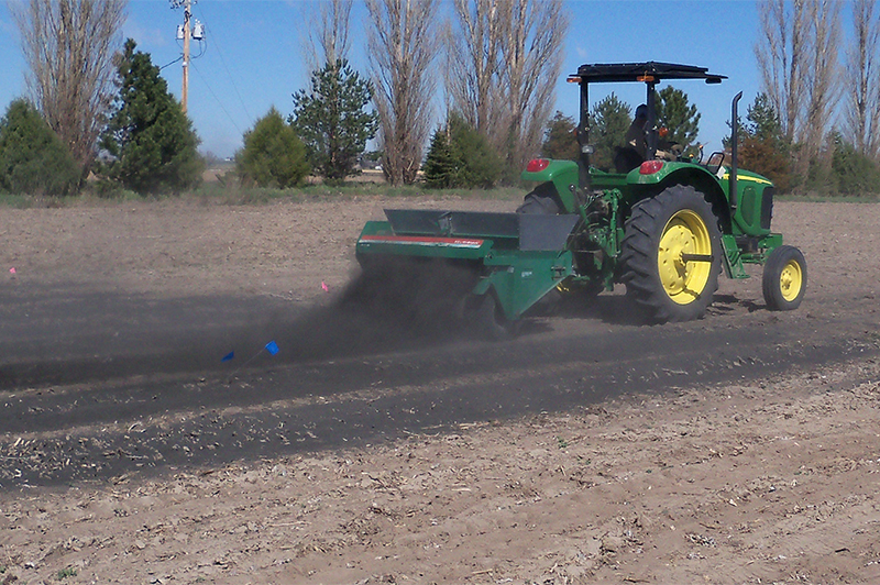 Char plot spreader