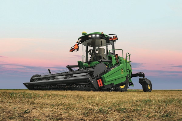 Deere 170 Windrower