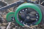 needham carlisle Spoked Narrow Gauge Wheel Assembly w/ needham ag urethane tire_1117 copy