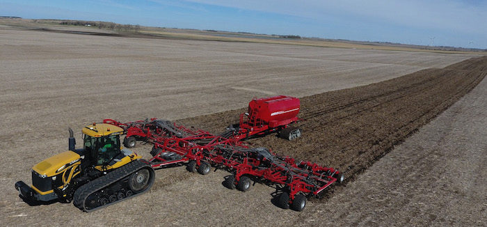 Horsch Panther 460 Sc Air Seeder And Sw600 Commodity Cart