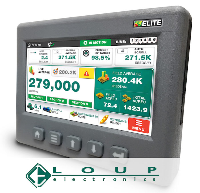 Loup Electronics Inc. Loup Elite Drill and Planter Monitor_1118 copy