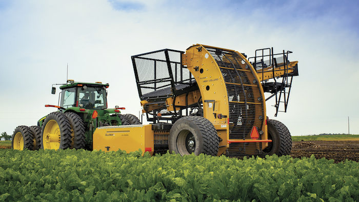 Alloway HV- 8R22 Sugarbeet Harvester_1220 copy