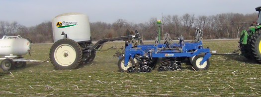 "AgSynergy introduces the DR Model Applicator with 15"" row spacing"