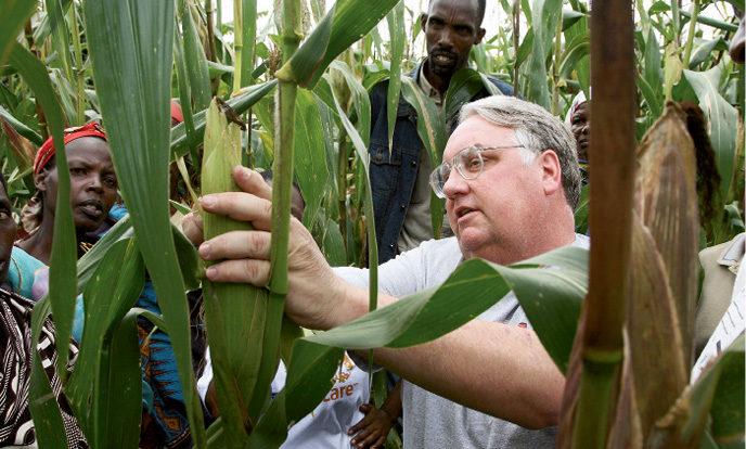 Howard Buffet farming South Africa