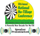 There's More To No-Till Fertility Than Just N, P And K (NNTC 2010 Presentation)- MP3 Download