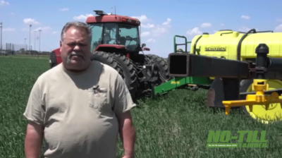Improving Water Infiltration, Cover Crop Management with No-Till