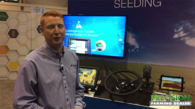 Topcon Agriculture's new Apollo System for Strip-Till Situations and Variable Application
