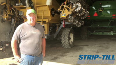 A Cost Cutting Mentality Reaps Strip-Till Rewards