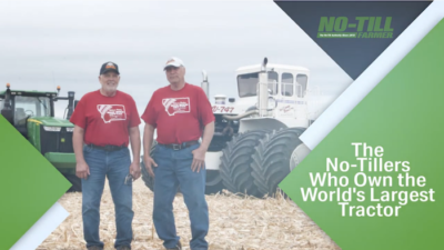 The No-Tillers Who Own the World's Largest Tractor