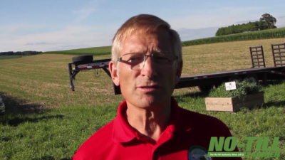 Strip Cropping and Interseeding Cover Crops with Marty Weiss