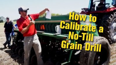 How to Calibrate a No-Till Grain Drill