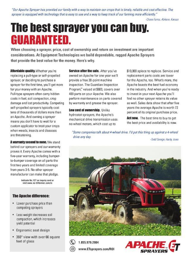 1980 International Harvester IH Cyclo Air Planter 6 Page Tractor Brochure Ad